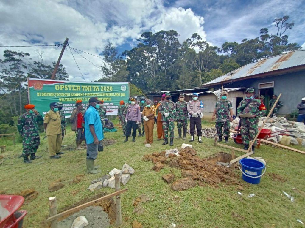 Pemkab Lanny Jaya Dukung Pelaksanaan Opster Tni 2020 Zona Papua